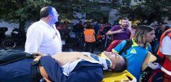 Stefano Fassina ferito durante manifestazione sotto Roma Metropolitane