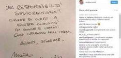 Primarie Pd : Matteo Renzi ringrazia su Instagram