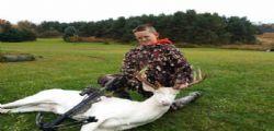 Gavin Dingman minacciato perchè uccide un cervo bianco