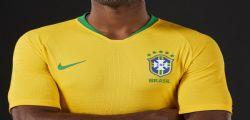 Brasile : CBF lancia una vivace divisa gialla per i mondiali in Russia