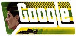 Ayrton Senna : Il Doodle di Google a 54 anni dalla sua nascita