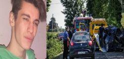 Marco Coletta muore a 19 anni dopo l