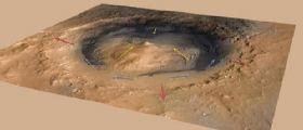 Curiosity : Marte potrebbe essere scolpito dal vento