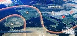 Allerta Meteo : In arrivo temporali e venti forti