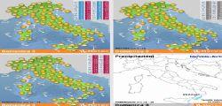 Previsioni Meteo : 1° weekend di Marzo con temporali e grandine