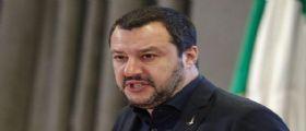 Matteo  Salvini sui migranti : In due mesi meno 30mila sbarchi... Volere è potere