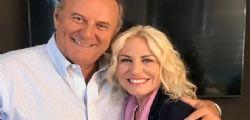 Incontri belli oggi! Antonella Clerici a Mediaset con Gerry Scotti