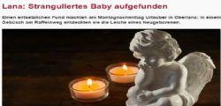Aveva ancora il cordone attaccato! Neonato senza vita  trovato in una scarpata in Alto Adige