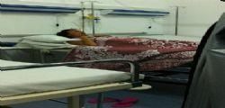 Antonella Mosetti in ospedale per un