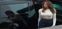 Melania Trump : La first lady super aderente e sexy