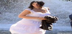 Monica Bellucci hot sul set di Lungo la via Lattea