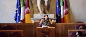 Il sindaco Virginia Raggi  sulla situazione rifiuti : Non c