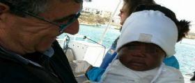 Lampedusa, la mamma muore in mare : La piccola Favour arriva sola