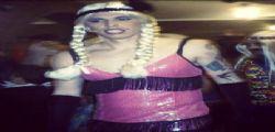 Marek Hamsik vestito da donna per Carnevale