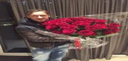 Grazie mille Diego : Maradona manda le rose a Francesco Totti
