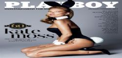 Kate Moss sexy coniglietta per Playboy