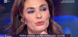 È la prima volta! Maria Grazia Cucinotta, lacrime a 'La Vita in diretta'