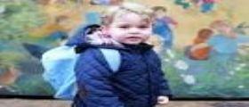 Londra : Il primo giorno di scuola del principe George figlio di William e Kate