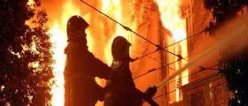 Incendio Roma : Muore un uomo di 55 anni