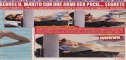 Martina Colombari in topless a Ibiza