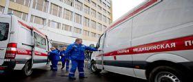 Russia : Un Uomo fa esplodere la moglie