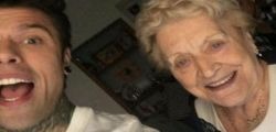 Anche la nonna di Fedez arriva sui social! E