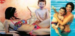Manuela Arcuri mamma sexy in bikini : non mi spoglierò più...