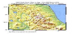 Terremoto Oggi : Scossa magnitudo 3.2 in piena notte a Norcia