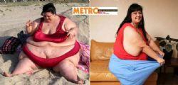 Patty Sanchez ingrassa fino a 330 kg per piacere al fidanzato