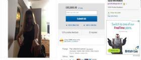 Gran Bretagna, mette in vendita su Ebay la fidanzata : L