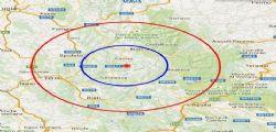 Terremoto vicino Amatrice : Scossa magnitudo 3.7, paura anche a Rieti e Norcia