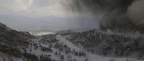 Giappone, eruzione vulcanica : Muore un militare colpito da una pioggia di sassi
