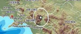 Terremoto : Scossa di magnitudo 3.1 in Irpinia epicentro tra Avellino e Salerno