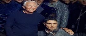 IL TOP MODEL FABIO MANCINI INCANTA ALLA MFW COLLEZIONI A/I 18/19