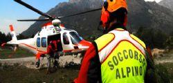 Alto Adige : Scivola e precipita per 200 metri: morto un bimbo di 8 anni