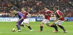 Milan-Fiorentina Streaming Diretta tv  e Online Gratis Serie A