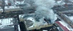 Incendio centro commerciale Siberia : 53 morti, la tragedia degli 11 bambini morti tra le fiamme