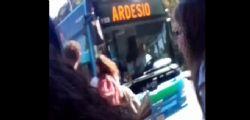 Bergamo/ Scontro tra due bus all