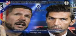 Atletico Madrid Juventus Streaming Live Diretta Champions League