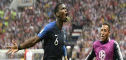 Diretta Francia-Croazia/ Finale Mondiali 2018 risultato finale 4 -2 : Francia campione del mondo