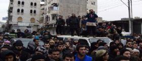 Siria, bombardamenti su Aleppo : Morte tre donne e quattro bambini
