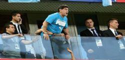 Maradona ricoverato in ospedale : il post dopo il malore ai Mondiali 2018