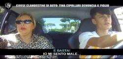 Tina Cipollari denuncia il figlio per uno scherzo delle Iene