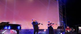 Il concerto di Umberto Scipione nella Piazza Aldo Moro di Formia
