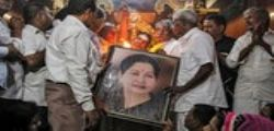 Jayaram Jayalalithaa : India in lacrime per la morte della governatrice ed ex attrice