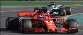 Formula 1/ vittoria della Ferrari in Australia : Vettel apre il Mondiale, 2° Hamilton e 3° Raikkonen