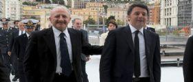 Matteo Renzi e De Luca contro Di Maio : Rinunci all