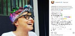 Nadia Toffa sorride e sfoggia un nuovo look su instagram