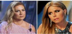 Lite furiosa! Romina Power e Loredana Lecciso chiuse in ascensore