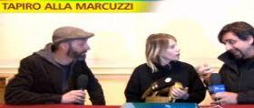 Striscia attacca Alessia Marcuzzi : Ci sono gli audio del canna-gate, ma lei non vuole ascoltarli